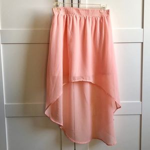 NWT - Forever21 High-Low Skirt
